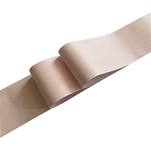 ASNHJH Bordure De Mur De Plinthe Auto-adhésive De Couleur Unie Décoration De La Maison Ligne De Taille Décalque D'autocollant De Papier Peint Imperméable en PVC (Color : I, Taille : 12CMX1000CM)