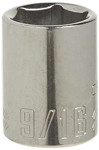 CRAFTSMAN Shallow Socket, SAE, 3/8-Inch Drive, 9/16-Inch, 6-Point (CMMT43004)