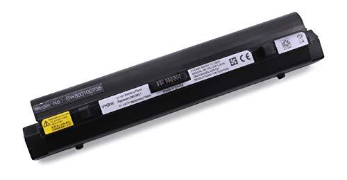 vhbw Batterie LI-ION 6600mAh 11.1V Noir Compatible pour Lenovo Ideapad S9 / S10 / S10e / S 9 10 remplace L08C3B21