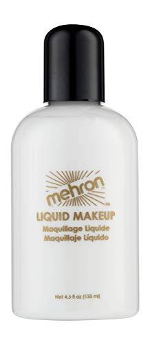Mehron Liquid Makeup 4.5 Oz Wh