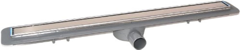 Kessel Duschrinne Linearis Compact DN50 seitlich, Lnge 950 mm KE45600.65