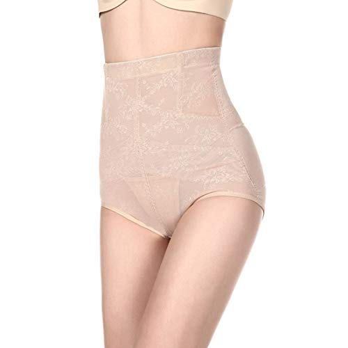Women Butt Lifter Shapewear Women Body Shapewear Best Slim Waist Trainer Corset Seamless High Waist Butt Lifter Tummy Control Panty Pack of 3 Waist Trainer Body Shaper (Color : Nude, Size : XXXL)