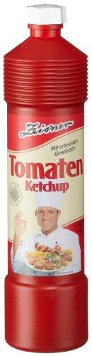 Zeisner Tomaten Ketchup, 12er Pack (12 x 800 ml Flasche)