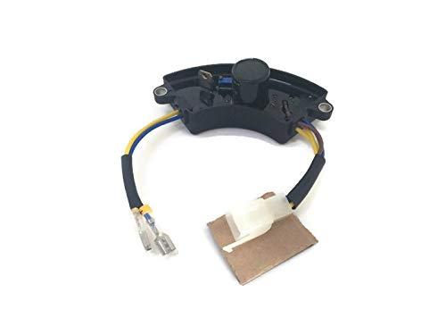 3000 W 3000 Watt Generador AVR Regulador Automático de Voltaje Rectificador 3KW Generador AVR Media Luna Estilo Negro
