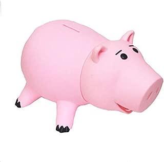 EYHOO Cute Pink Pig Money Box Plastic Piggy Bank for Kid's Birthday Gift