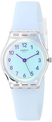 Swatch Essentials Quartz Silicone Strap, Blue, 12 Casual Watch (Model: LK396)