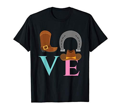 Vaquera I Vaquero I Amante de los caballos I Occidental Camiseta