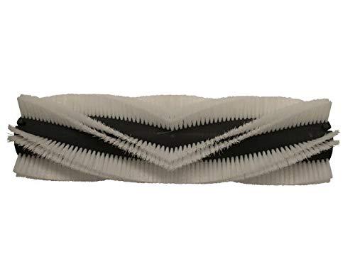 partmax® Bürstenwalze für Dulevo 911 G, Poly 1,0 mm glatt weiß, Walze, Walzenbürste, Kehrwalze