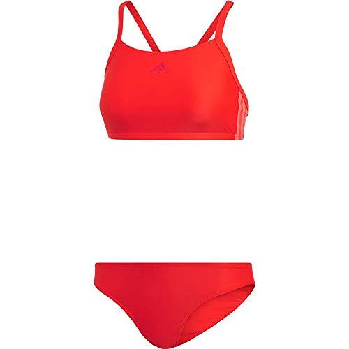 adidas Damen Fit 2-teilig Badeanzug, Rot (active red), 34