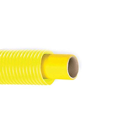 Tubo multicapa para gas con vaina corrugada amarilla, diámetro 16 x 2...