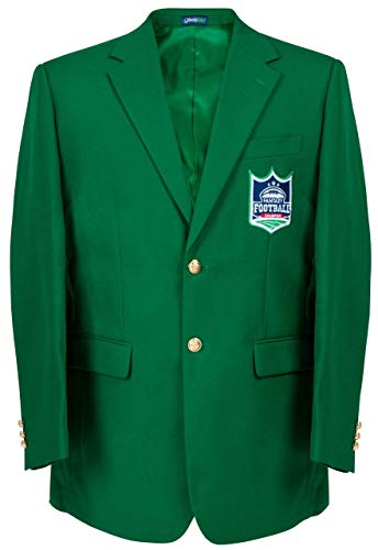 Great Price! Fantasy Football Championship Green Blazer Jacket - Size 46 Reg
