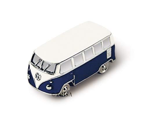 VW Aimant de Modèle Cadeau T1 BRISA Combi Bleu VW Collection dans 3D Mini Boîte FKTcl1J3