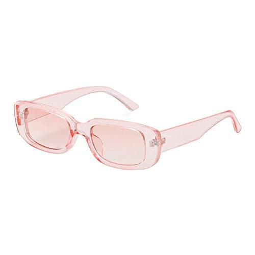 Gafas de sol rectangulares para mujer, hombre, gafas de sol cuadradas vintage, gafas de protección UV400