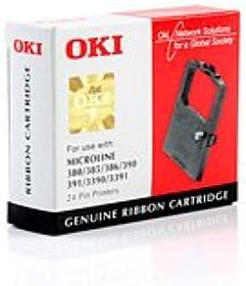 Original Nylonband Oki Ml 390 09002309 1 Schwarz Bürobedarf Schreibwaren
