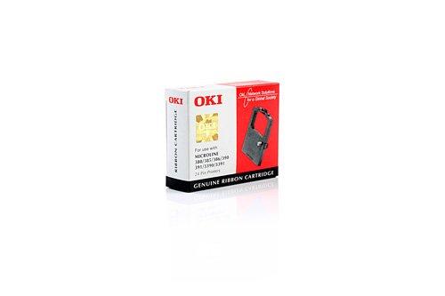 Oki Farbband Ml 380/385/390/391/3390 Nylon schwarz