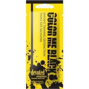 Le meilleur activateur pour un bronzage immédiat Solarium Produit professionnel 15 ml Color Me Black de Devoted Creations avec 30 DHA Bronzer
