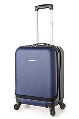 "TravelCross Boston 21"" Carry On Lightweight Hardshell Spinner Luggage"