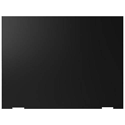 Leisure - Credence de Cuisine Noir S110K Fond de hotte Acier 110 x 75