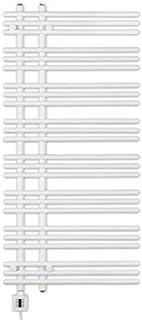 Eléctrico Radiador Toallero, Radiador Toallero, Blanco Recto, Incl. Patrón Calor, Fix Und Fertig Entrega, Eléctrico Radiador Toallero - blanco, 1300h x 500b