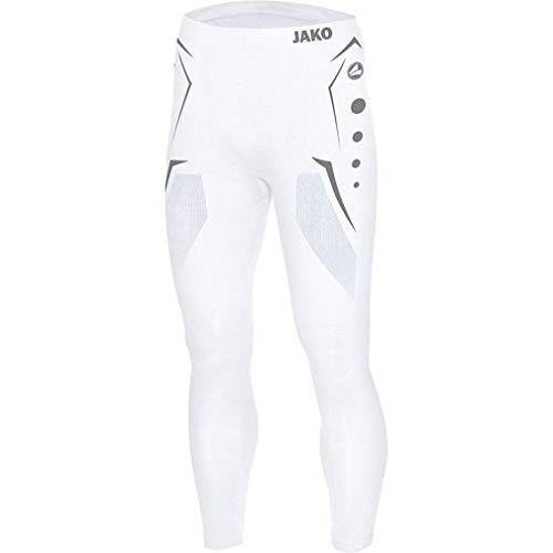 Jako Herren Long Tight Comfort , Weiß (00 White) , M