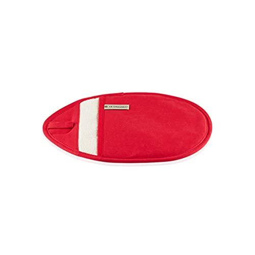 Le Creuset Manique, 100% Coton, Longueur 12.5 in / 32 cm, Cerise, 95002700060000