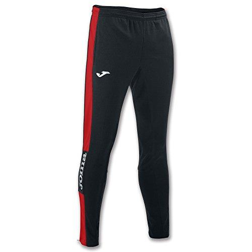 Joma 100761 Pantalones, Hombre, Negro Rojo, M