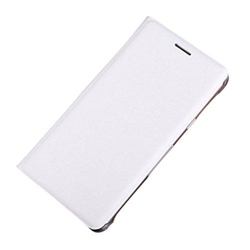 Generic Funda de piel sintética para teléfono móvil, cartera, tarjetero, para S6/S7 Edge, borde S7, Samsung Galaxy, color blanco