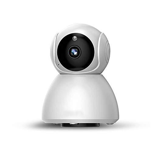 TianranRT Inalámbrico 720P Domo 360 ° Red de La Casa Cctv Cámara Ip Ir Visión Nocturna Wifi Cámara Web (D)