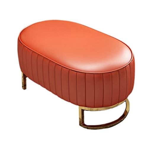 Laosunjia Schoen Bench Houten voetenbankje bankje uiteinde kruk rustige kruk schoenen kabinet zitting PU bekleding poeffe stoel bed einde kruk voor hal woonkamer slaapkamer