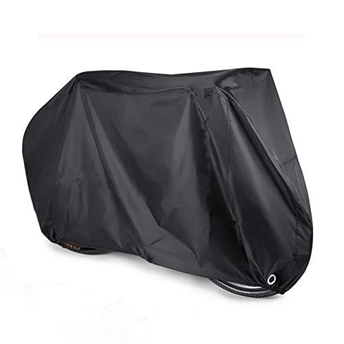 XINTUON Cubierta de bicicleta para almacenamiento exterior durable impermeable a prueba de viento anti fácil de empacar proteger la bicicleta
