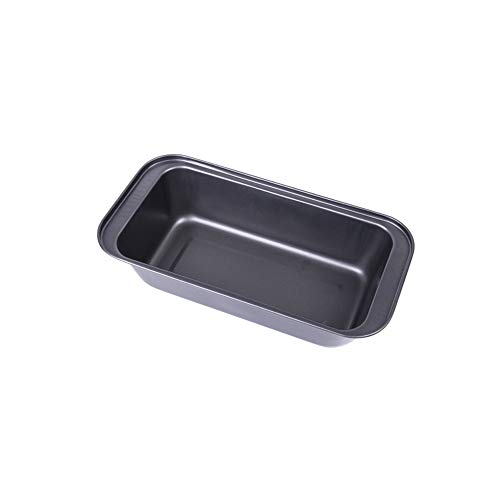 JINNIN Bread Mold, Rectangular Carbon Steel Non-Stick Toast Pan Bread Mould, Suitable for Making DIY Cakes, Bread, Meatloaf, Quiche,25cm
