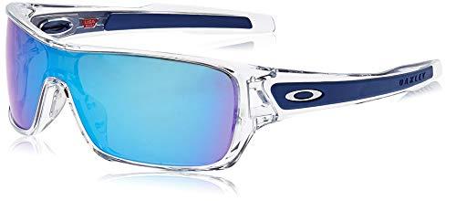 Oakley 0OO9307 Occhiali da Sole, Multicolore (Polished Clear), 40 Uomo