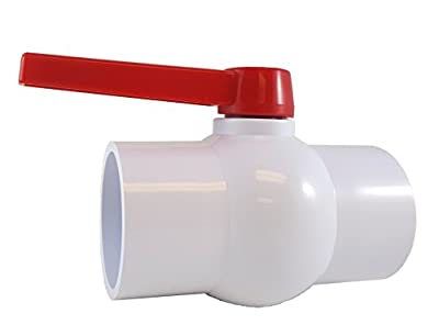 """PVC COMPACT BALL VALVE 3"""" - Threaded - Sanipro by SANIPRO"""