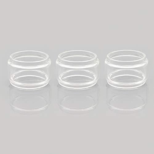 Vaportown 3X Pyrec Ersatzglas für SMOK TFV8 Baby V2 TFV-Mini V2 Tank Regenbogen Transparent Fat Boy Glass für Mag Grip Kit Species Kit (Transparent)
