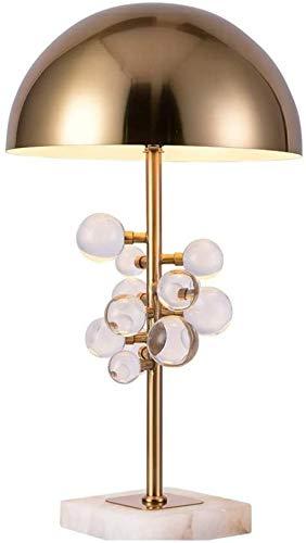 LIUYULONG Lámpara Decorativa Lámpara de Mesa Sala de Estar Estudio Hotel Dormitorio Lámpara de Noche 35 * 58 cm (Luz de Noche (Color : Crystal)