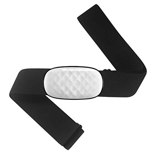 Swakom Monitor de frecuencia cardíaca   Bluetooth/Ant + Correa para el Pecho Monitor de frecuencia cardíaca Sensor HRM Compatible con Wahoo Polar Runtastic Pro Tomtom Edomondo para iOS, Android