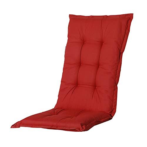 Coussin pour fauteuil à dossier bas Basic rouge