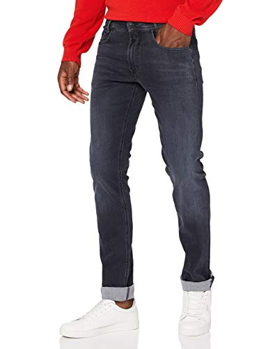 MAC Jeans Herren MACFLEXX Straight Jeans, Authentic Dark Grey, 31W / 34L