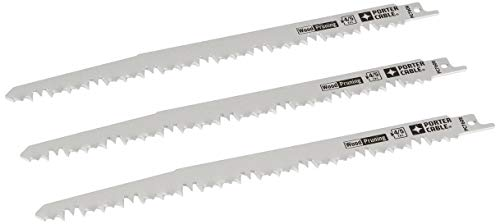 PORTER-CABLE Pruning Reciprocating Saw Blades, 9-Inch, 3-Pack (PC760R)
