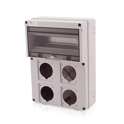 Kunststoffgehäuse Installationsgehäuse Leergehäuse Industriegehäuse 360x260mm (Leergehäuse) JS7805