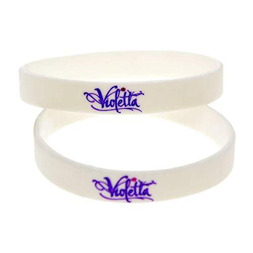 Vempires Herren Armbänder Silikon Armbänder Violetta Musical Band 10 PCS