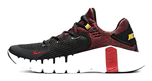 Nike Free Metcon 4 Black/Dark Cayenne DJ3015-016, nero (Nero/Bianco/Solare Flare/Cayenne Scuro), 46 EU