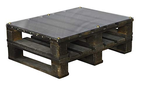 clc Table Palette Made in Italy Eco Interiors - Imbruniuto Moka 60x80x30cm