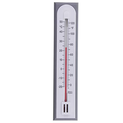 Präzises Raumthermometer zur Verwendung als Raumtemperatur-Thermometer im Haus, Büro, Garten oder Gewächshaus, einfache Wandmontage