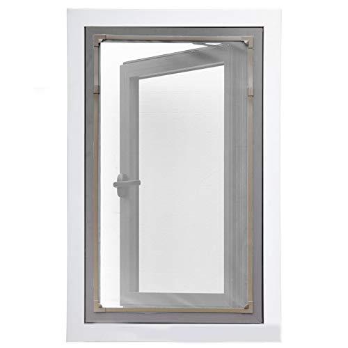 Las mosquiteras utilizadas para ventanas simples se pueden cortar a voluntad, las...