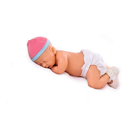 Baltic Baby® Finja Reborn Bebé Niña de Silicona con Ojos Cerrados