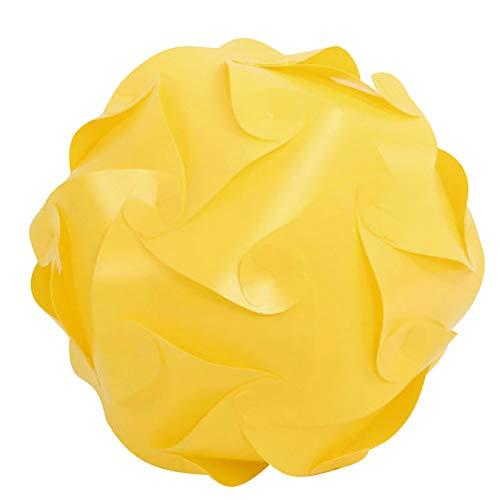 Gpure Tulipas para Lamparas de Iluminación Colgante Puzzle DIY de Plástic 25cm Esférica 7 Colores Creativo Juguetes Infantiles y Adulto Divertido (G)