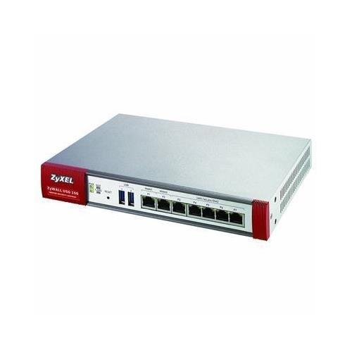 Zyxel Zywall Usg 100apparecchio di sicurezza–1x 10/100/1000Base-T Dmz 4x 10/100/1000Base-T LAN 2x 10/100/1000Base-T WAN–1x PC card