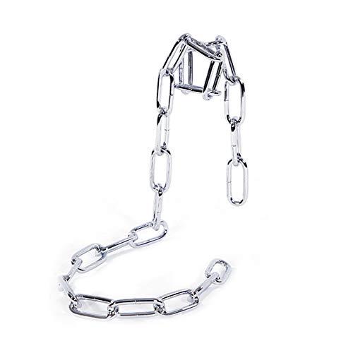 Mengdie Soporte de metal para botellero, cadena de cuerda/botella, para decoración de bodas y fiestas