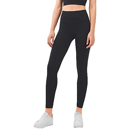 LICHUXIN Sport Pants High Waist Leggings Stretch Yoga Hosen Pants für Gym Workout Running Training Jogging Training Frauen Gymnastik Sport (Color : Black, Size : M)